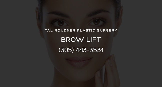 Brow Lift Surgery Miami