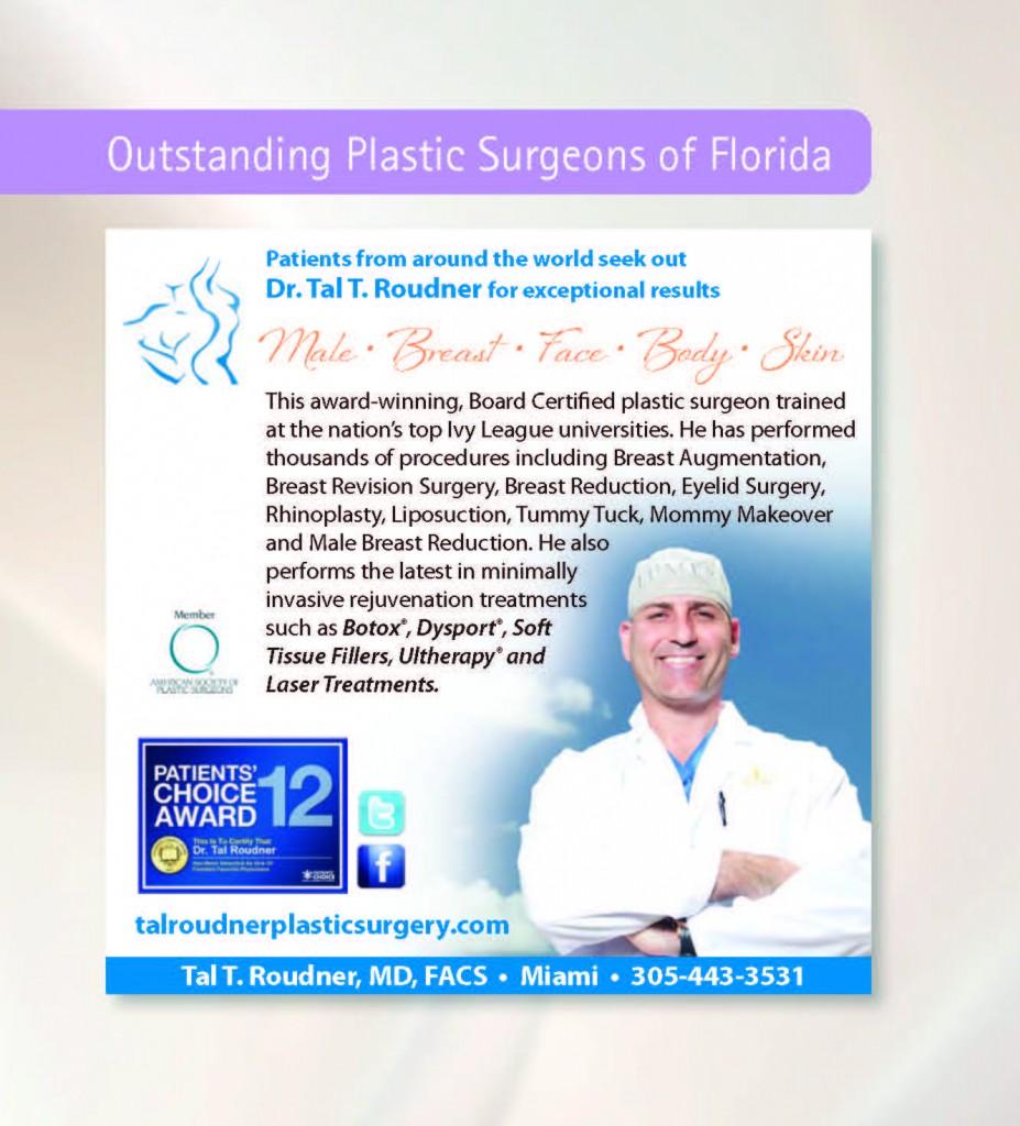 Miami Plastic Surgeon Dr Tal Roudner in Cosmopolitan Magazine Jan2013