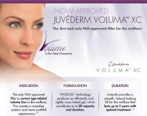 Juvederm Voluma XC is the newest FDA approved HA filler for the midface in the US